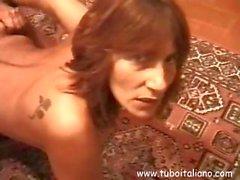 Italian Sexy Milf Fucked Milf Italiana