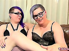 Spex Transe in prall twosome assfucked