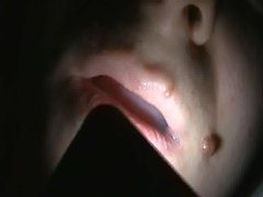 Huge load off cum inside my sleeping wifes mouth