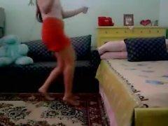 Arab Horny Teen Dance