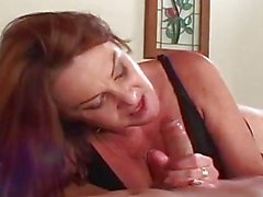 Horny Blonde Milf Entices Huge Y...