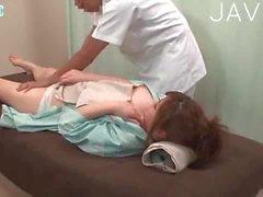 Horny jap doctor drills patient 2