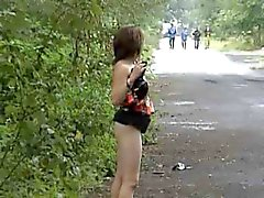 Katya Malina Flashing By TROC