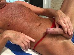 bain de soleil horny velu papa papa