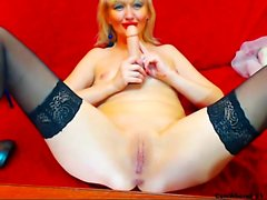 Mature stockings maid amateur bitch