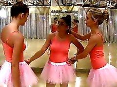 Teen Besties Fuck The New Ballerina !