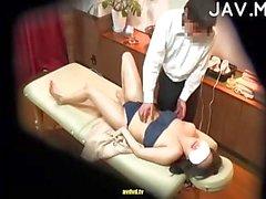 Japanese massaged & mouth stuffed