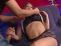 Sıcak Miku Kohinata ile Hardcore porno sahneleri