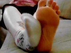 Smelly Socks and Feet Tease