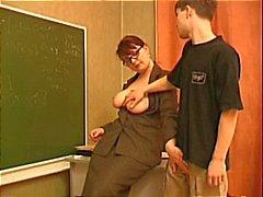 Öğretmen Genç Stud Seduces