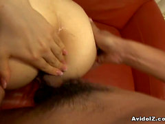 Sexy Aimi Nakatani gets a huge creampie!