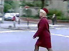 female traffic warden in heat 2of2 (french) o.O