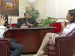 lucky starr mature secretary gangbanged by office mates