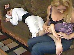 Foot tickling 01