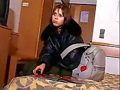 Russian teen Lyudmilla violated