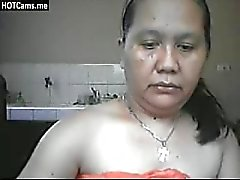 Busty Mature Filipina Rubbing