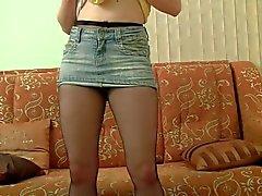Pantyhose performance solo