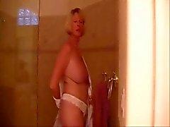 Solo #74 (GILF) Super-Duper Granny in the Shower