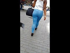 BhamBootyHunter: Thick Ass Booty in Jeans Candid