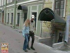 Olia Russian Teen - Blow Job