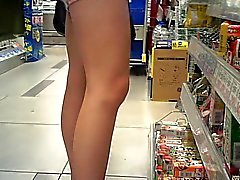 Canded shorts and legs(with fase,armpit)
