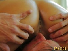 Latin amateur gets facial