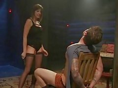 Maitresse Madeline tease and denies hot slaveboy