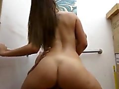 Big tattoo girl Fucking A Sexy Latina Stewardess