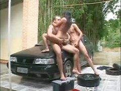 XXXBisexual Couple Meet a StrangerXXX Latino