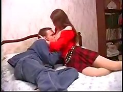 Beauty Russian Shaved Teen Babe Fucked With Facial Sperm Tasting