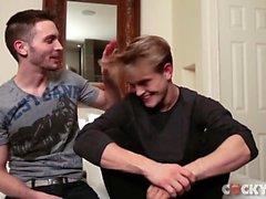 Dänischer Junge - Jett Schwarzes (Jeppe Hansen - Dänemark) Homosexueller Sex 46