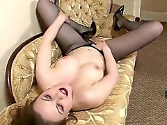 Solo enjoyable with pantyhose