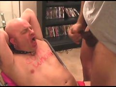 Amateur mad at gay blowjob