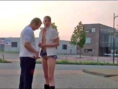 JENNY BAKKER, public outdoor sex