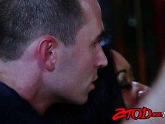 Karlie Montana und Haut-Diamant gegen James Deen