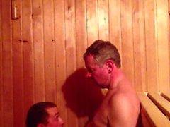 Plus âgés plus jeunes Cock Cock sucking (papa et fils)