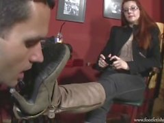 Goddess Victoria Boots & foot worship
