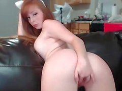 a redhead that like to fight ass