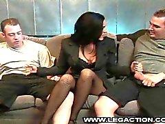 Veronica Райн есть Кок Любящий Получает Двухместный чучела
