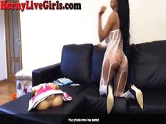 Hot Webcam Slut Loves Her Toys