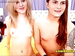 Schöne Paar Ladyboys-Cam-Show