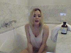 Bree Olson Bath Time