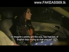 fake taxi driver fucking hot brunette 23