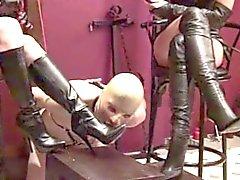 Boot humilaton femdom