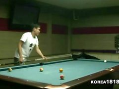 KOREA1818COM Sexy Pool Hall Girl