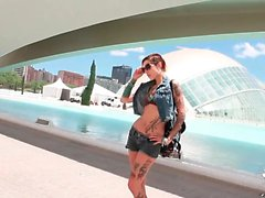 Shameless Silvia Rubi is crazy fine! Her tattooed Latina