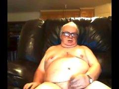 morfar stoke på webcam