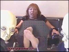 tickling soles feet