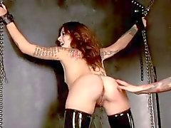 BDSM Latex Girl Gets Owned