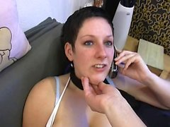 Amateur GF blows POV wang